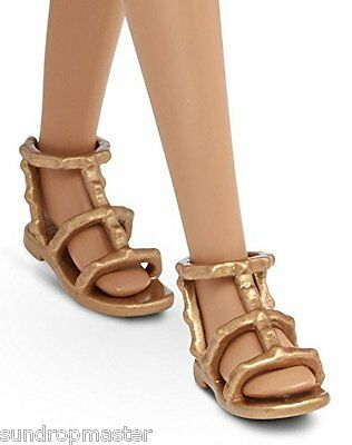 2016 Barbie Shoes Fashionistas Flats Gold Gladiator Sandals Also Fit Skipper