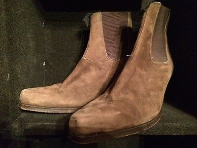 The Who - John Entwistle - Custom made stage worn boots !!! THE REAL DEAL