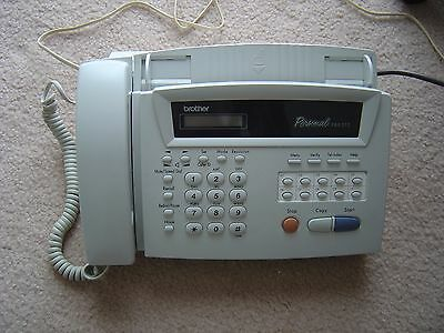 Brother FAX-515 FAX PHONE & COPIER with handset speaker plus built-in+ADF