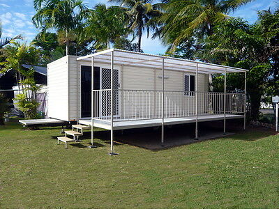 Towable 1 or 2 Bedroom Mobile Home, Granny Flat, Tiny House, Relocatable Home.