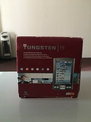 Ipalm Tungsten T5 Pda Handheld Bluetooth - In Box