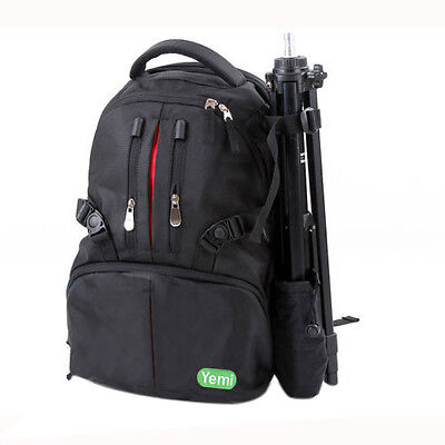 07S8 Yemi X-Large Multifunctional DSLR Camera Backpack Laptop Bag For EOS Sony