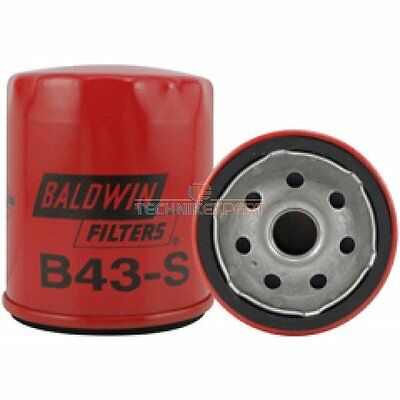 BALDWIN FILTERS  B43-S Lube Filter, Spin-on