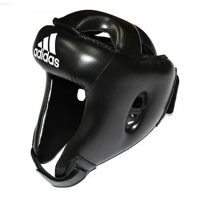 Adidas Rookie Head Guard Kids Youth Boxing Black Size S Small A611