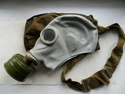 Helloween RUBBER GAS MASK GP-5 Russian Soviet Vintage Military New, all sizes