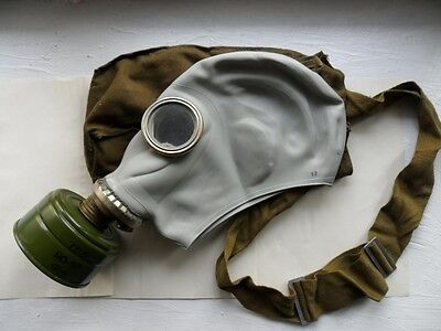RUBBER GAS MASK GP-5/IP5 Russian Soviet Military New, all sizes