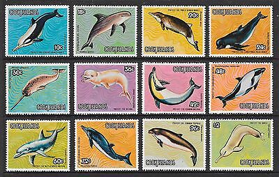 Cook Is: 1984 Save The Whales Set, Mnh, 7036