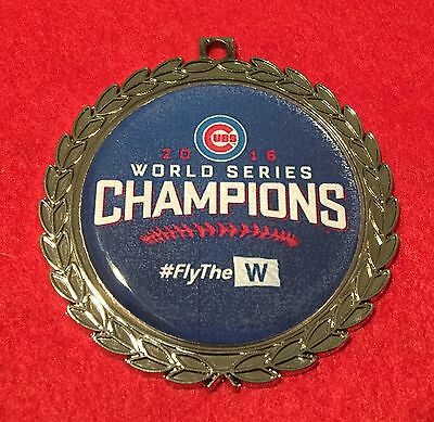 Chicago Cubs 2016 World Series Champions #flythew Christmas Ornament Free Ship