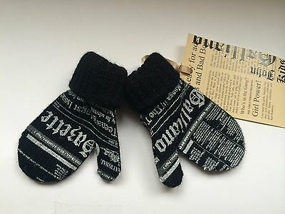 John Galliano Baby Handschuhe, John Galliano baby gloves NEW SALE NP 59,90 EUR
