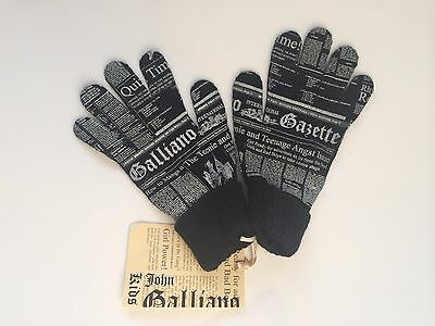 John Galliano Jungen Handschuhe, John Galliano boy gloves NEW SALE NP79,90 €