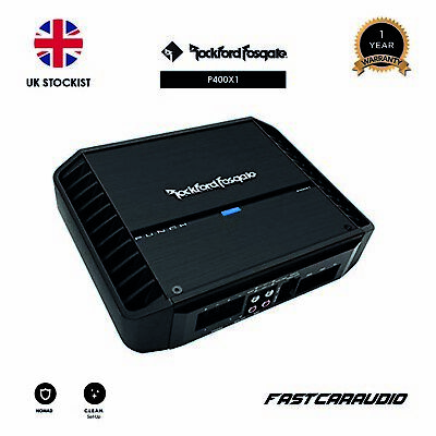 Rockford Fosgate Punch P400X1 - 400 Watt Punch Mono Amplifier