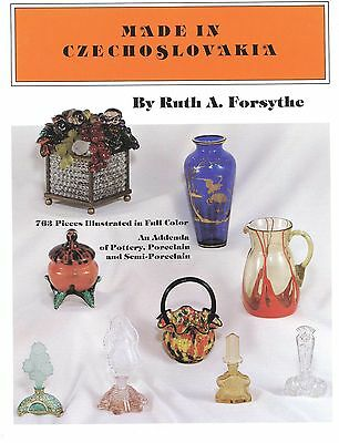Czechoslovakian Art Glass and Ceramics - Makers Marks / Book + Values