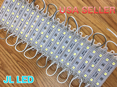 Super bright IP65 Waterproof 5054 SMD White/Red LED Module Light Lamp DC 12V USA