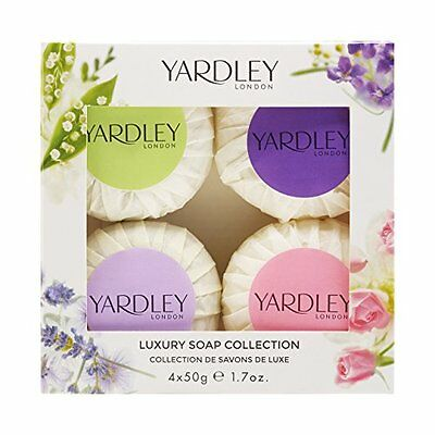 Yardley London Guest Soap Collection mista 4 x 50 g