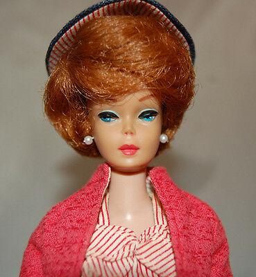 Vintage Titian Bubble Cut Barbie doll #981 Busy Gal Fashion outfit 850