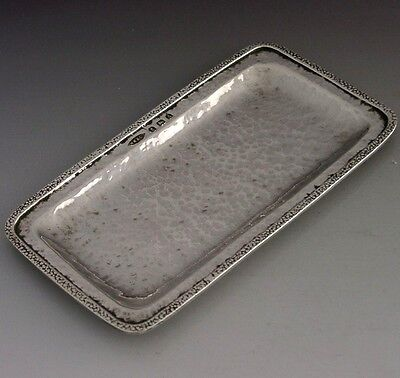 Rare Winifred King Sterling Silver Dish English Arts & Crafts Antique 1925