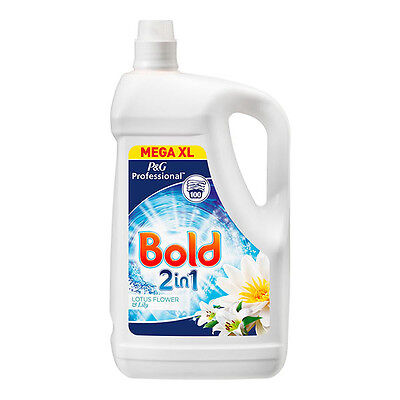 Bold Laundry Liquid 2 in 1 Lotus Flower & Lily, 100 Wash