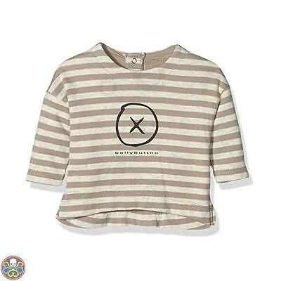 Bellybutton Kids Tg: 6 Mesi Mehrfarbig T-Shirt 1/1 Arm Maglia A Maniche Nuovo