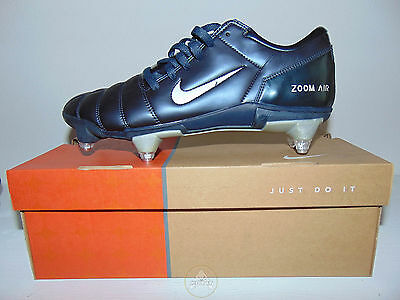 Vintage NIKE Air Zoom 90 SG Scarpe Calcio 44 Soccer Shoes Boots 10 Old Stock