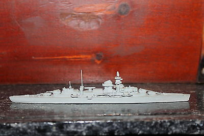 WWII Comet Metal Authenticast German Cruiser Admiral Hipper Class