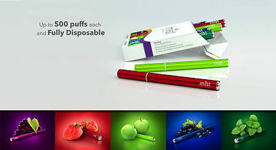 Mist Disposable E Pen w/ Diamond LED Tip - Combo Pack
