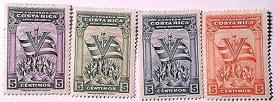 Costa Rica  Unused   Stamps Scu355Pf...worldwide Stamps