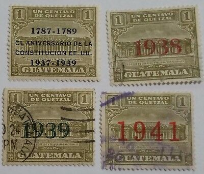 Guatemala 1939 Stamps Scu555Gh...worldwide Stamps