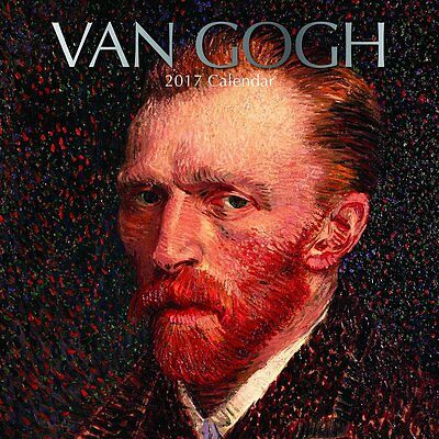 "Vincent Van Gogh Art Paintings 2017 Monthly Wall Calendar, 12"" x 12"""
