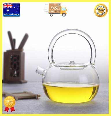 Japanese Style Glass Kettle Glass Teapot Teamaker Direct Fire Heatable 800ml