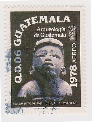 (GMA-138) 1979 Guatemala 6c ceramic figures