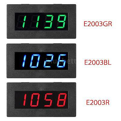 """Portable Mini 0.56"""" 4-digit LED Frequency Tachometer Car Motor Speed Meter L9D6"""