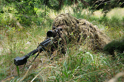 Desert Camouflage Ghillie Suit YOWIE SNIPER Tactical Camo Suit For Hunting