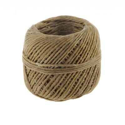 Organic Hemp Wick Natural Beeswax Candle Making Hemp Cords Wick DIY 200ft 1mm