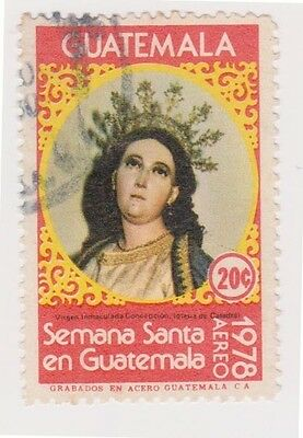 (GAM-135) 1977 Guatemala 20c Virgin Mary