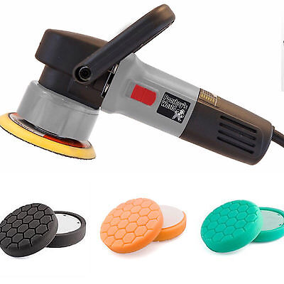 Poorboys DAS Dual Action Polisher 900W + Hexlogic heads
