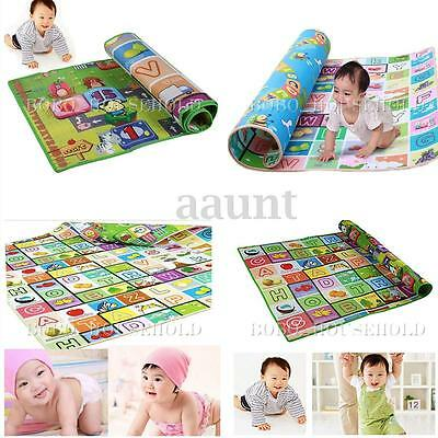 3 Sizes Baby Play Mat Foam Floor Child Activity Soft Toy Gym Creeping Blanket