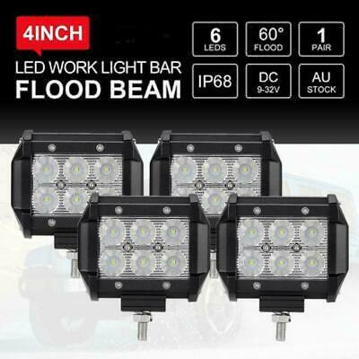 """23inch 648w Philips LED Light Bar Spot Flood Offroad Work Driving Truck 4WD 22"""""""