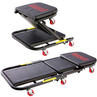 2 in 1 workshop creeper up to 150kg mechanic's creeper assembly board roll board