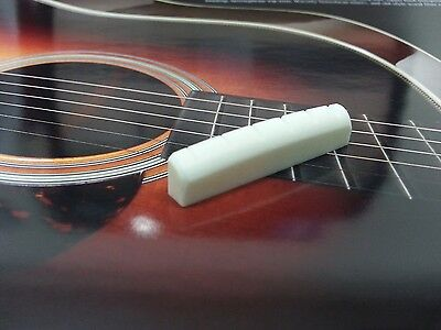 Slotted Cut Bone Nut For Martin Acoustic Guitars 44mm