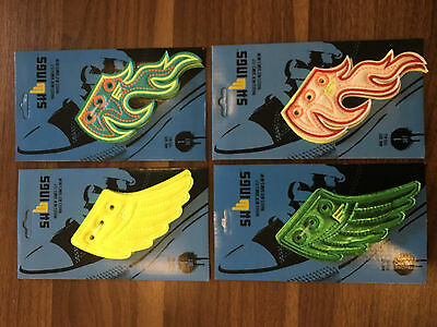 New Shwings for trainers baseball boots shoes skates rollerskates and Iceskates
