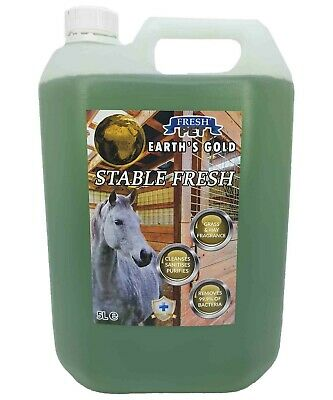 STALLION Stable Cleaner Disinfectant/Deodoriser -  MEADOW 5L