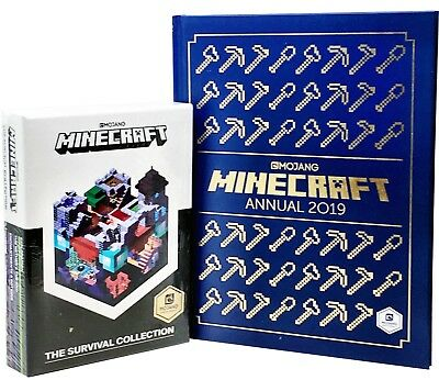 Minecraft Guide Book, Minecraft Annual 2017- 5 Books Collection Set by Mojang