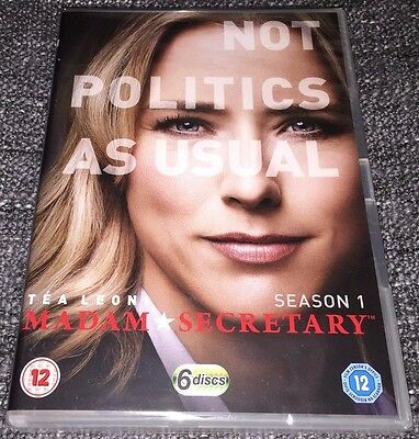 Madam Secretary DVD Boxset The Complete First Season (Series 1)(2015 6-Discs)NEW