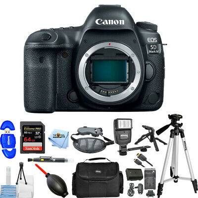 Canon EOS 5D Mark IV DSLR Camera (Body Only) ALL YOU NEED BUNDLE BRAND NEW