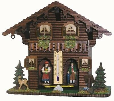 Made in Germany Black Forest weather house  NEW top quality black forest