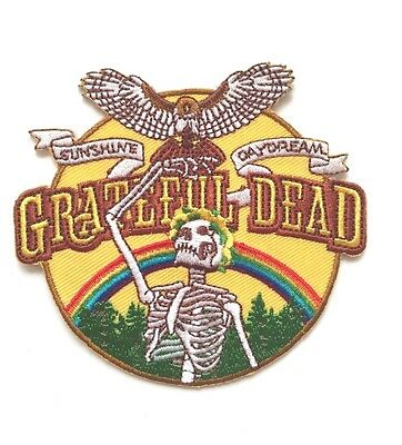 Grateful Dead Sunshine Daydream Embroidered Patch Iron on or Sew on