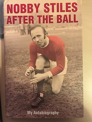 Nobby Stiles Signed Autobiography £35