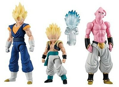 Bandai Dragonball Shodo 3 Vegetto, Evil Buu, and Gotenks (Set of 3) IN STOCK USA