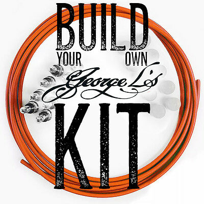 *Build Your Own* George L's Pedalboard .155 / .225 Effects Cable Pedal Board Kit