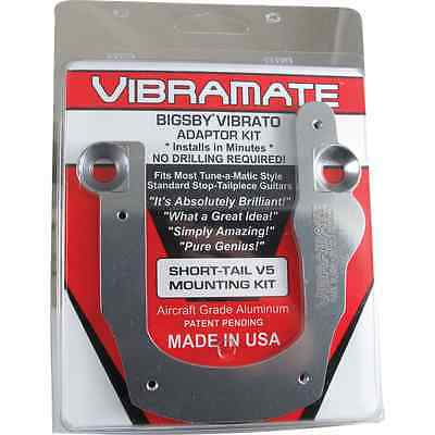 Vibramate - V5-ST Short Tail, For Bigsby B5, Color: Gold